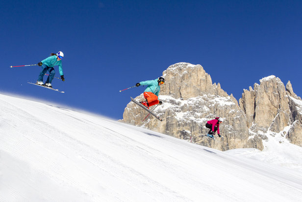 Le migliori 10 piste della Val di Fassa - 2) Skiarea Col Rodella - ©Val di Fassa / R. Brunel