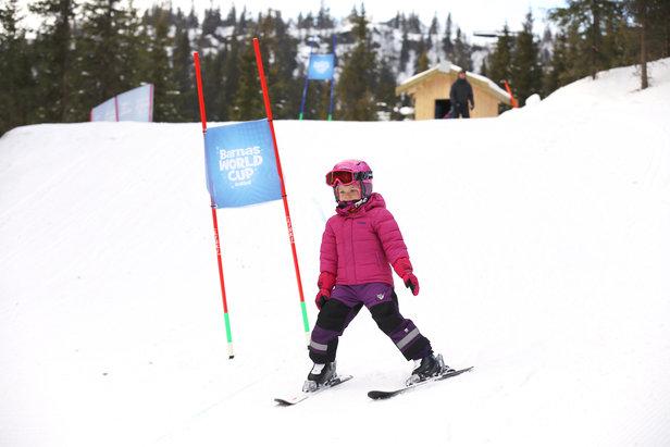 Barnas worldcup i Kvitfjell. - ©Christian Bråtebekken
