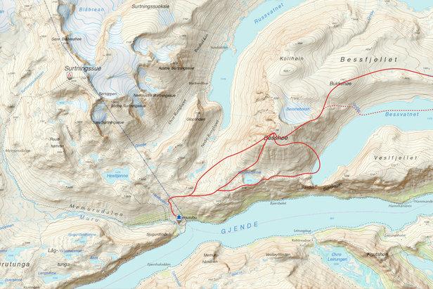 Dag 1 - Jotunheimen Haute Route