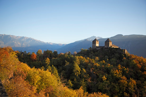 Herbst in Tisens bei Lana