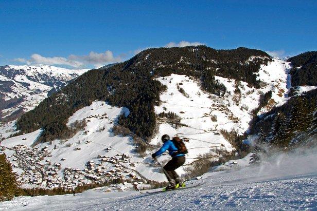 Ski engagé ou familial à Arêches Beaufort - ©OT Arêches Beaufort