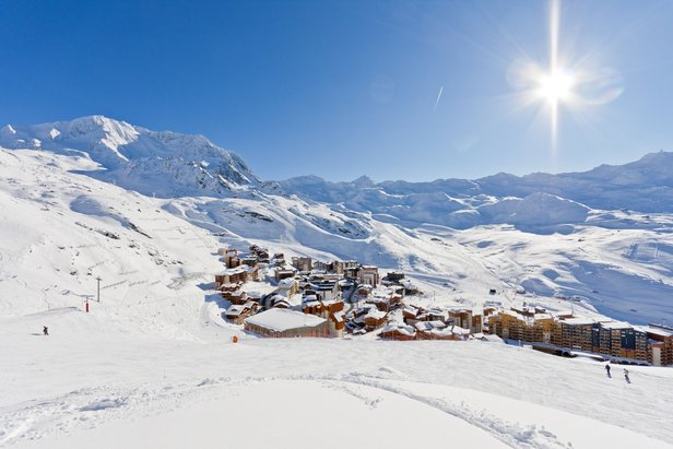 vue val thorens hiver - ©C. Cattin - OT Val Thorens