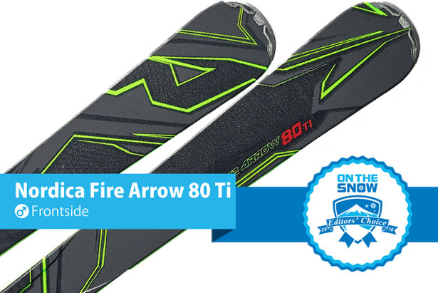 Men's Frontside Editors' Choice Nordica Fire Arrow 80 Ti