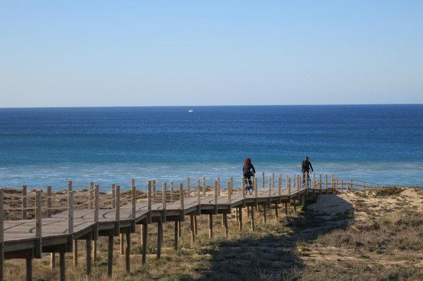 Sonnenziele für Herbstradler: Meer im Blick