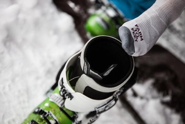 Skischoenen worden steeds comfortabeler. - ©Liam Doran