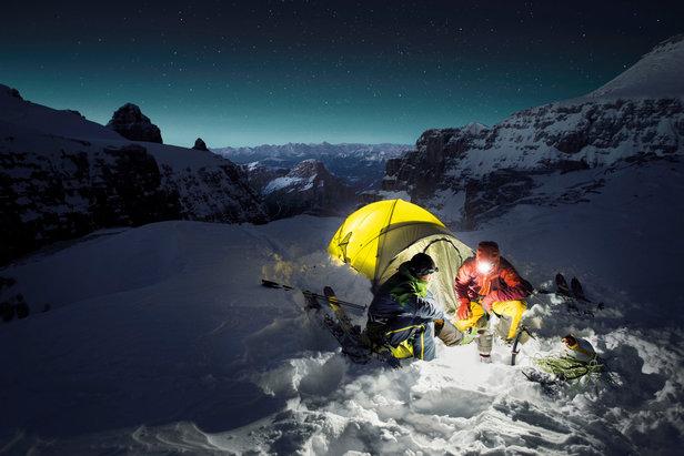 Vivez l'expérience d'un camp de base hivernal dans les Alpes avec SALEWA - ©Salewa