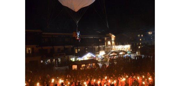 Santa's Festival in La Clusaz - ©Thierry Milherou / Office de Tourisme de La Clusaz