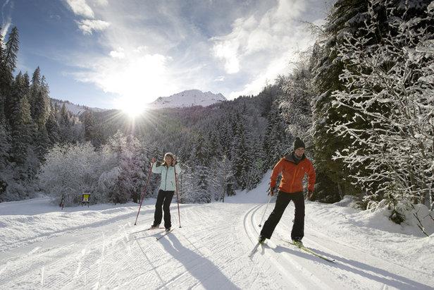 ski nordique les contamines - ©OT des Contamines Montjoie