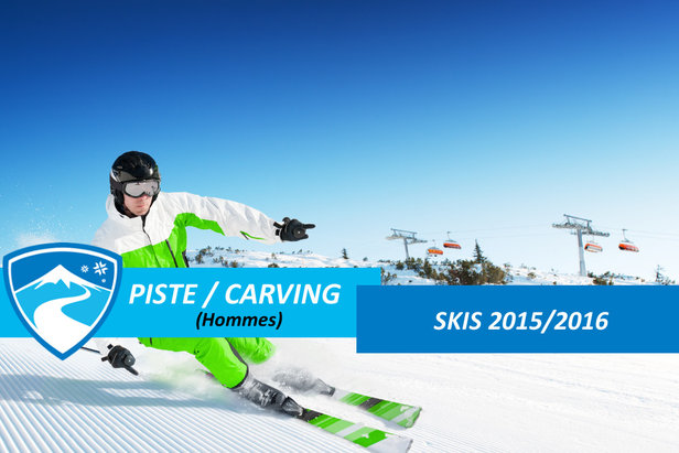 Skis piste carving hommes 2016 - ©dell - Fotolia.com