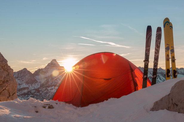 Ein Morgen im Zelt kann, egal ob Sommer oder Winter, magisch sein - ©Erika Spengler