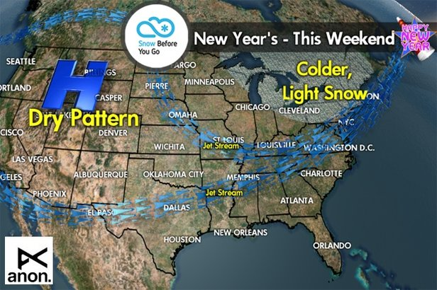 New Year's Forecast - ©Meteorologist Chris Tomer