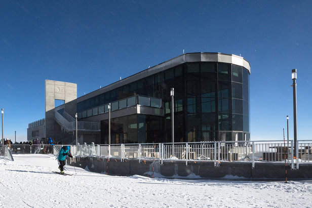 The Summit House at Snowbird opened in late December 2015. - ©Matt Crawley