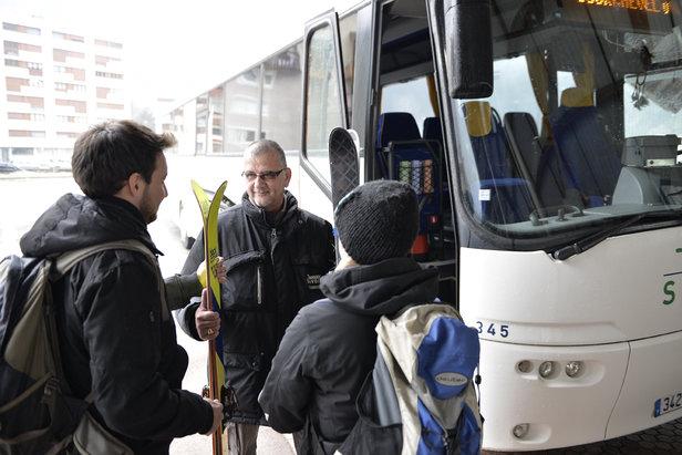 Altibus.com propose la réservation de navettes vers quelques 85 stations de ski de Savoie et Haute Savoie - ©Altibus/Transdev