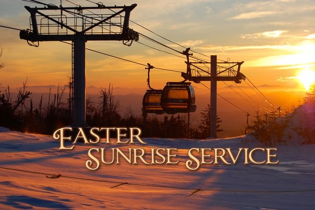 Easter Sunrise Service - ©Join the Gore Region community for this annual tradition, a non-denominational service at the summit of Bear Mountain.