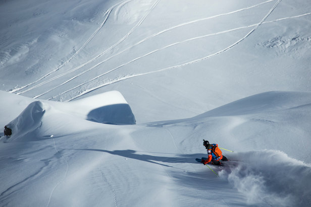 Freeride World Tour in Chamonix Mont-Blanc - ©www.FreerideWorldTour.com | D. Daher