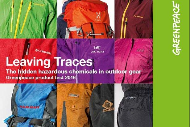 Greenpeace fand in vielen Outdoor-Produkten große Mengen PFC - ©Greenpeace