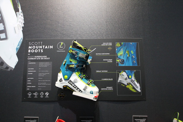 Der Scott Superguide Carbon GTX Boot - ©Skiinfo