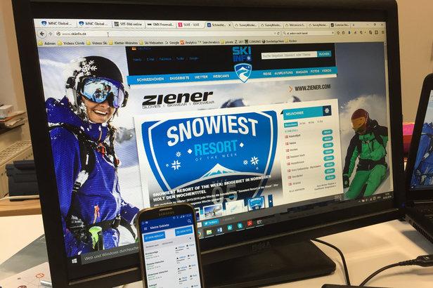Skiinfo Web und App - ©Skiinfo