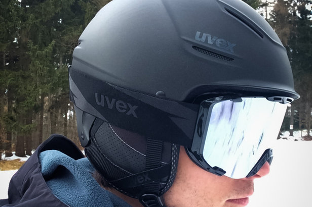Im Test: Uvex P1us Pro und Uvex Snowstrike LTM Black - ©Skiinfo