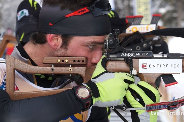 Samse Biathlon National Tour aux Contamines-Montjoie
