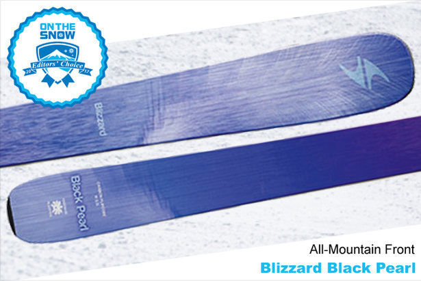 Blizzard Black Pearl, women's 16/17 All-Mountain Front Editors' Choice ski. - ©Blizzard