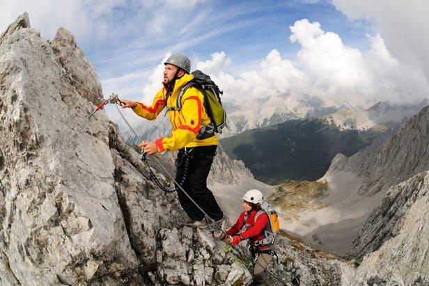 Wer derweil hoch hinauf will, muss ein wenig klettern - ©Norbert Eisele-Hein