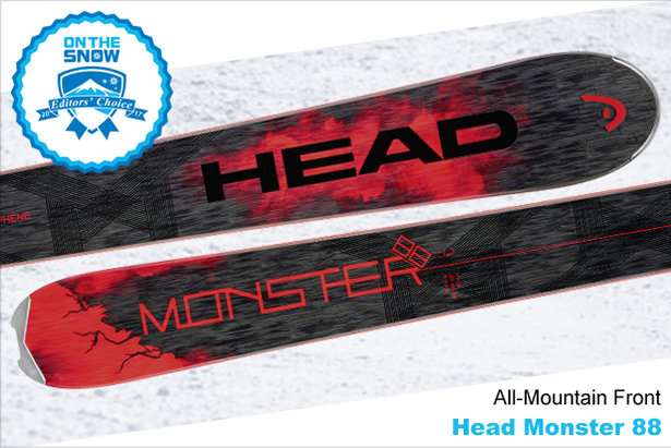 Head Monster 88, men's 16/17 All-Mountain Front Editors' Choice ski. - ©Head