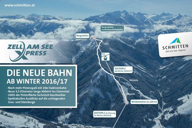 Infografik ZellamSeeExpress - ©Zell am See Schmitten