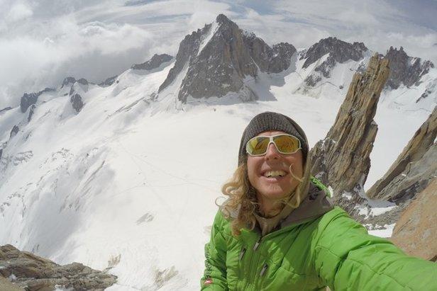Mich Kemeter klettert schwerste hochalpine Route in den Alpen - ©Archiv Kemeter