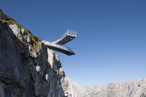 Nervenkitzel in den Alpen: Die spektakulärsten Aussichtsplattformen im Sommer 2016 - ©TV GaPa