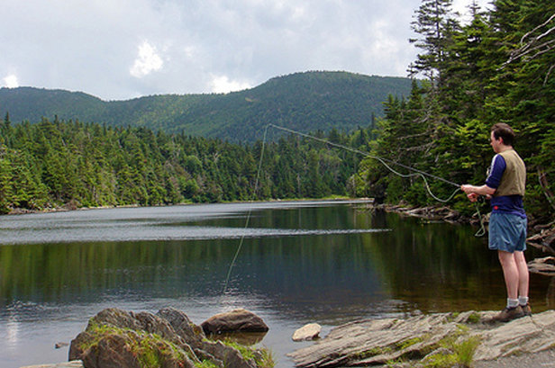 Hike to Vermont's Highest-Elevation Trout Pond - ©Carrie Kasper