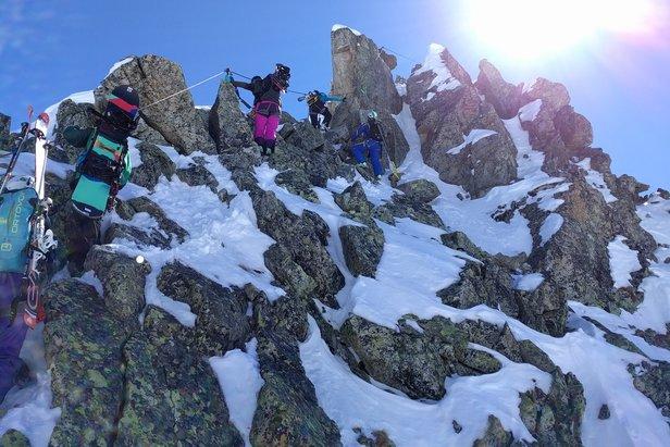 I St. Anton Am Arlberg kan du prøve Tyrols eneste vinterlige Via Ferrata.  - ©Travelvalley.nl