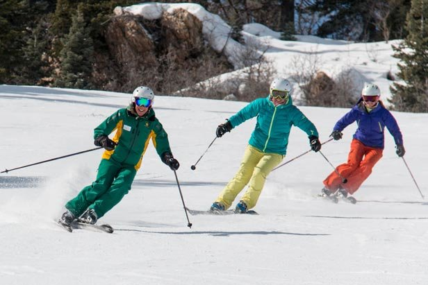 Women's Weekend Ski Clinic - ©Three Full Days