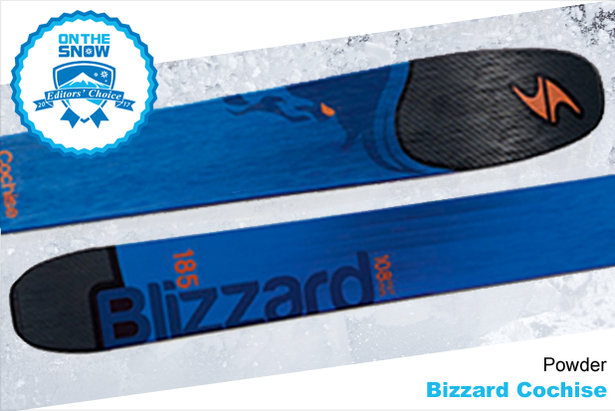 Blizzard Cochise, men's 16/17 Powder Editors' Choice ski. - ©Blizzard