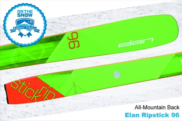 Elan	Ripstick 96, men's 16/17 All-Mountain Back Editors' Choice ski. - ©Elan