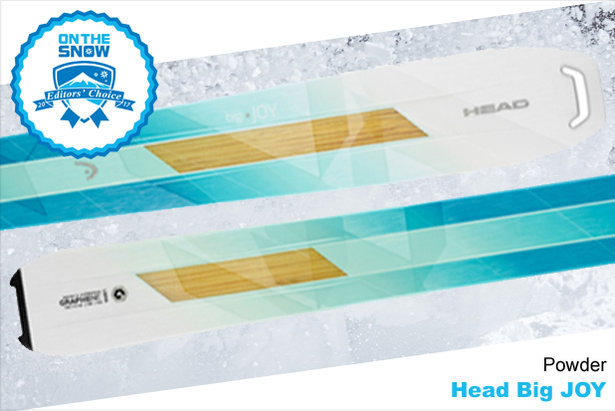 Head Big JOY, women's 16/17 Powder Editors' Choice ski. - ©Head
