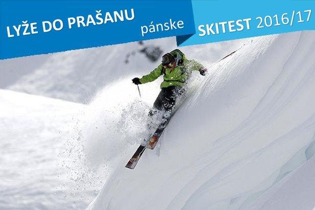 Pánske lyže do prašanu - Skitest OnTheSnow 2016/2017 - ©stefcervos