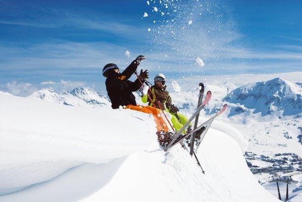 Rauris AUT skiers