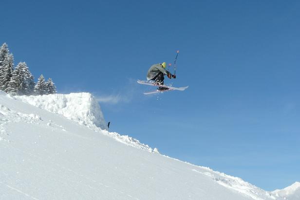 San Bernardino SUI ski jumper