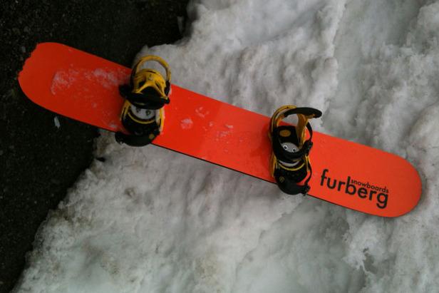 Test av Furberg Freeride 167 Snowboard 2012 - Trond Hindenes