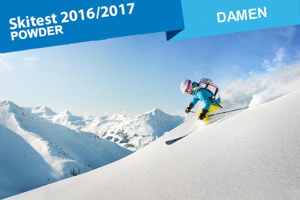 Die breitesten Powder-Ski für Frauen im Skiinfo-Test - ©mRGB