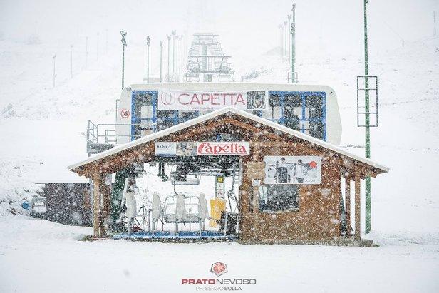 Nevicate in corso [Fotogallery] - ©Sergio Bolla - Prato Nevoso Ski Facebook