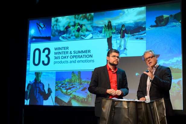 theALPS Media Summit 2016: Internationales Forschungsteam präsentierte zentrale Herausforderungen für alpine Winterreisen - ©AlpNet/Oss