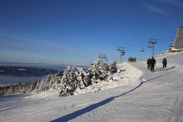 Her kan du stå på ski til helgen - ©Hafjell Alpinsenter