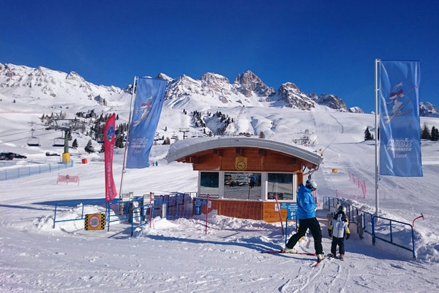 Si scia dal 3 Dicembre nella Skiarea Alpe Lusia - San Pellegrino - ©Alpelusiasanpellegrino.it
