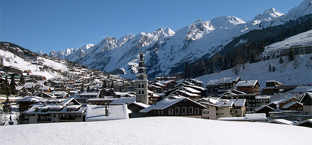 La Clusaz village