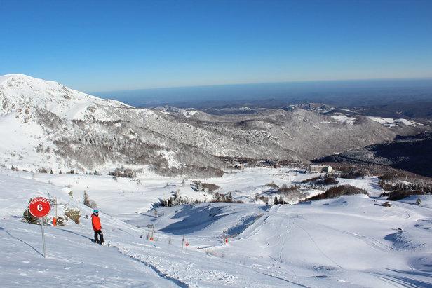 les monts d olmes pr 233 sentation de les monts d olmes la station le domaine skiable