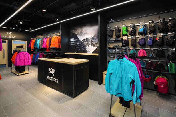 magasin Arc'teryx Chamonix - ©Arc'teryx