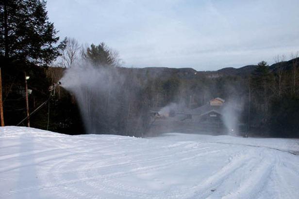 Sapphire Valley NC snowmaking