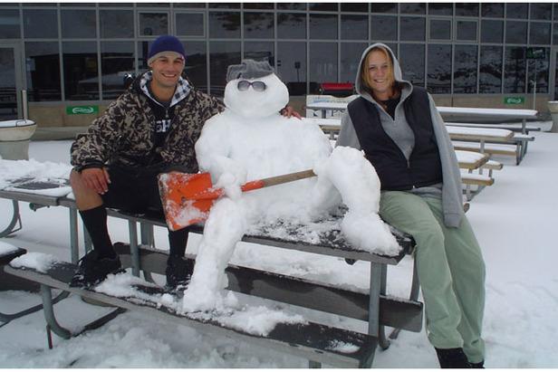 NZ Snowman April 09
